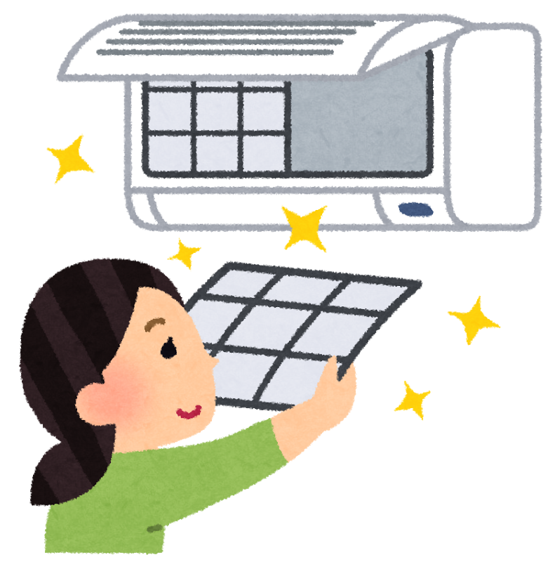 家庭用エアコンのフィルター掃除で家計を節約!