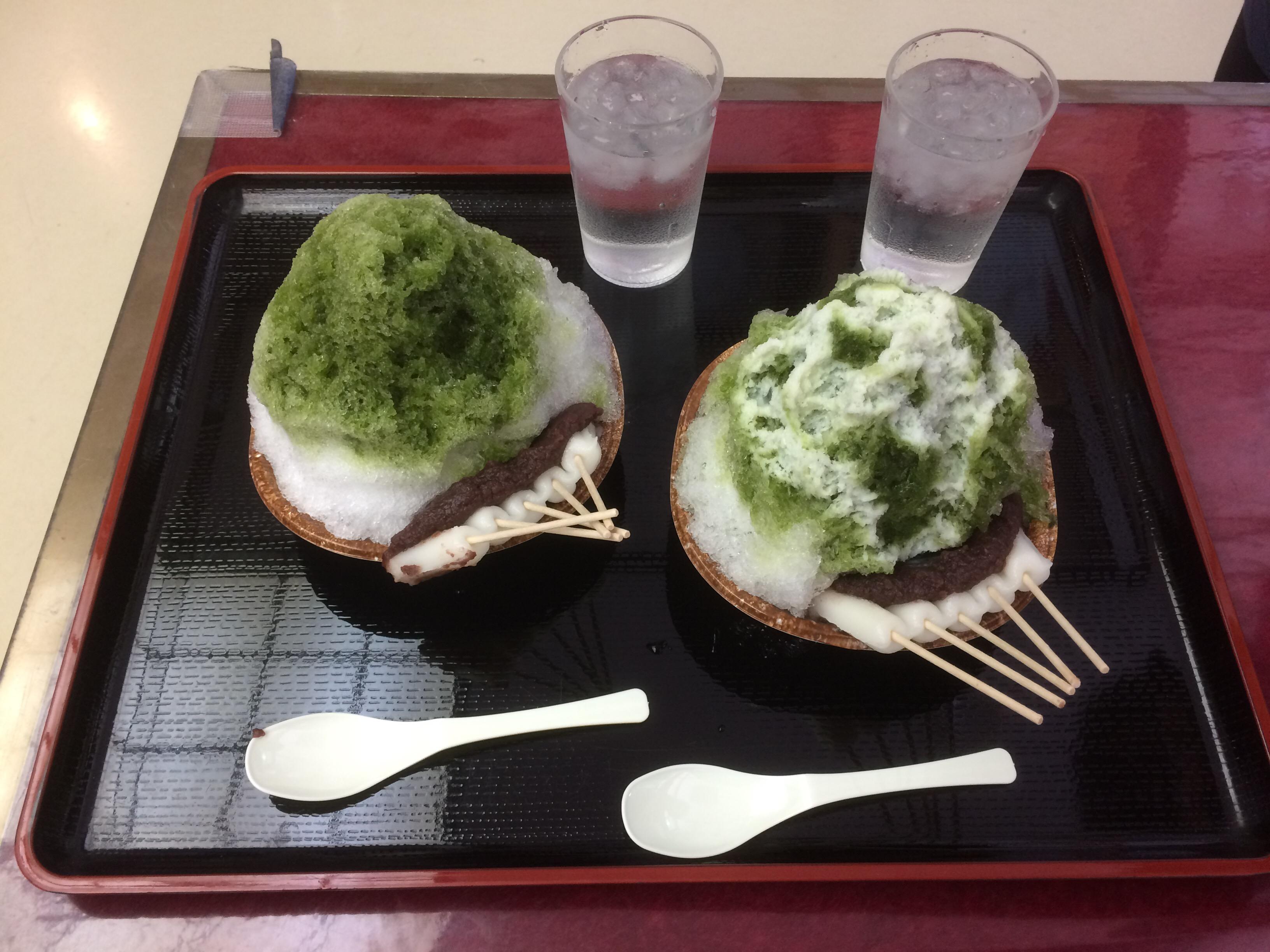 【夏期限定】法多山の厄除だんごが乗っかったかき氷「厄除氷」を食べてきた!